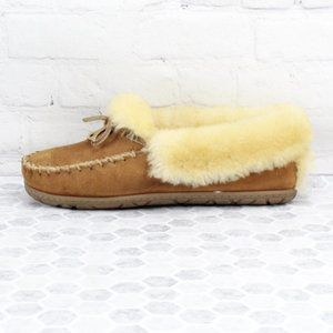 L.L Bean Wicked Good Moccasins Slippers